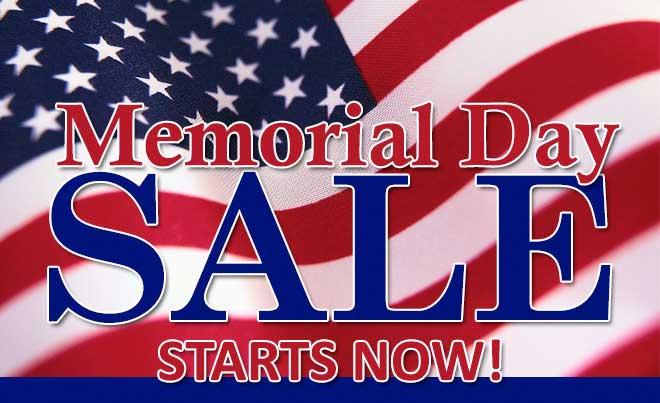 Memorial Day Sales 2017