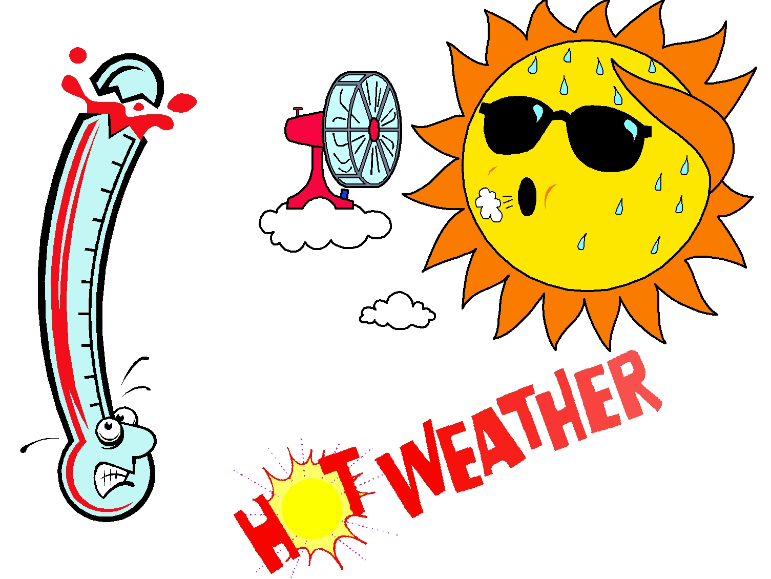 Dry Weather Clip Art Weather related stories &