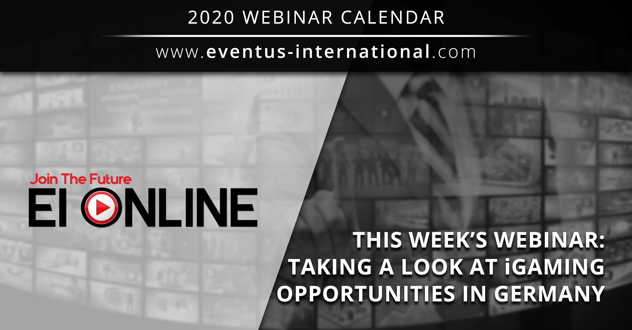 Upcoming iGaming Webinar Opportunities In Germany: EI ONLINE