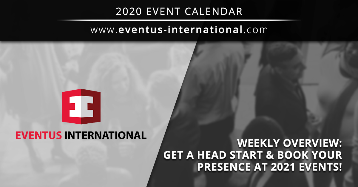 Weekly Overview: Get A Head Start Book Your Presence At 2021 Gaming Events