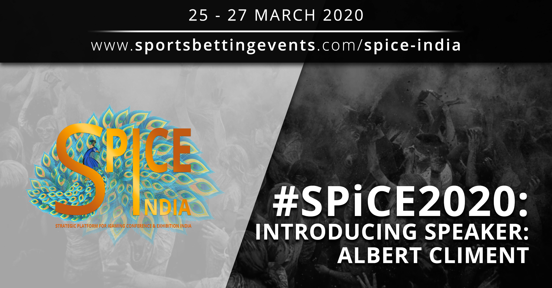 Press Release: SPiCE 2020: Less than two months to go to SPiCE 2020: Interview with Albert Climent