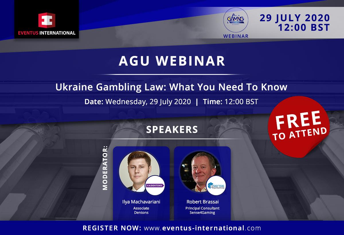 Ukrainian Gambling Legislation Laws Webinar: What You Need To Know