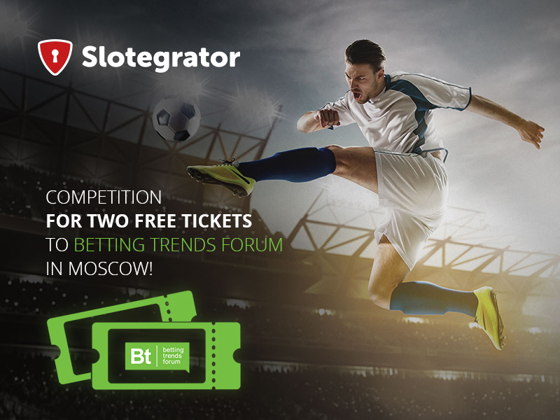 Gaming Press Release: Slotegrator Announces A Competition For 2 Free Tickets To Betting Trends Forum In Moscow