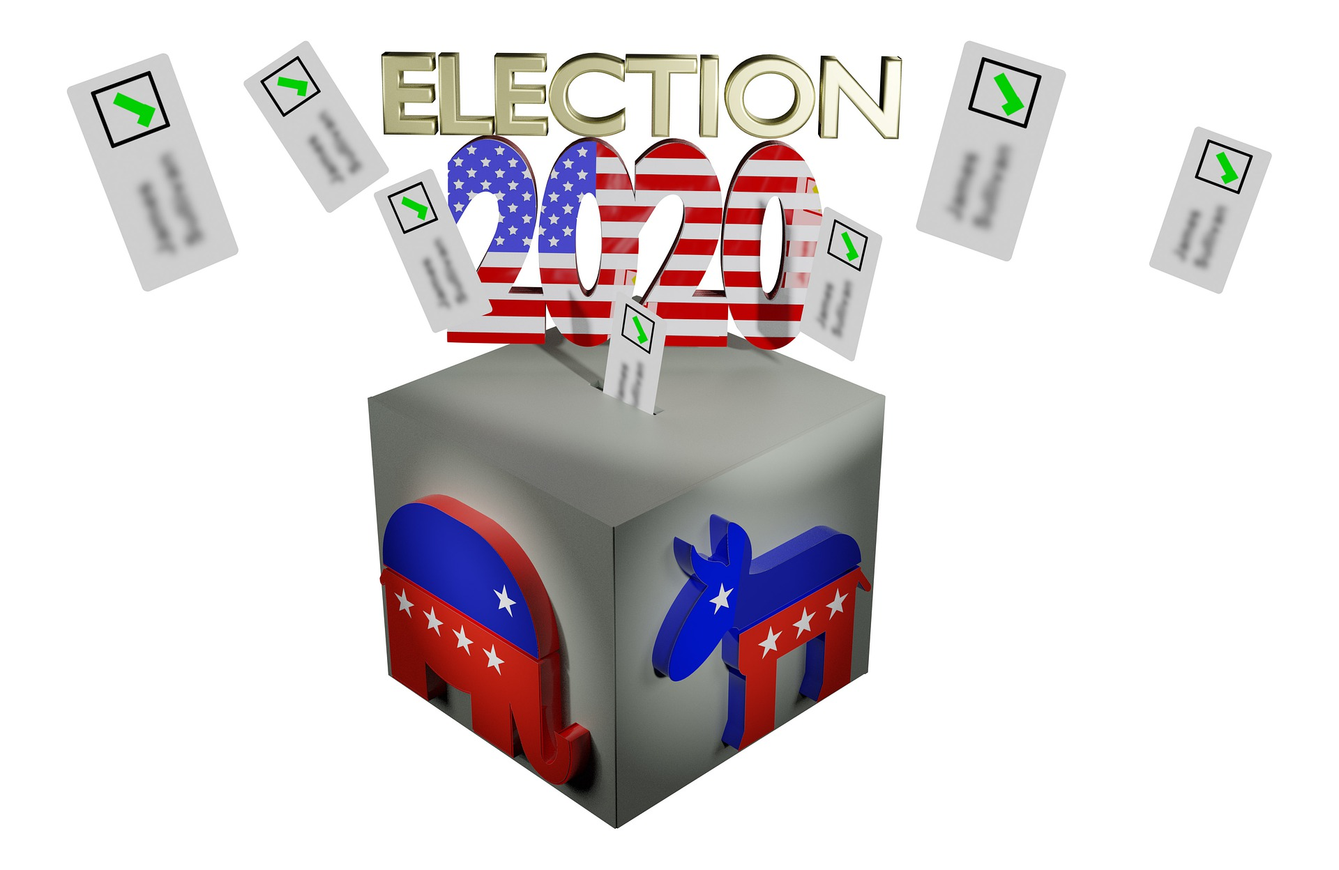 2020 Election News Voting Ballots