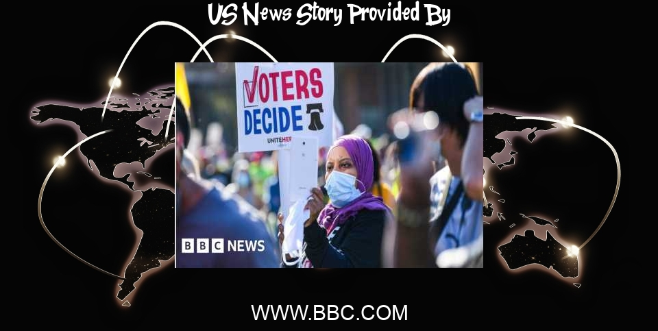 US News: Voting rights: How the battle is unfolding across the US - BBC News
