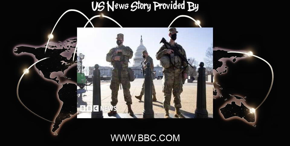 US News: US Capitol police warn of possible militia plot to breach Congress - BBC News