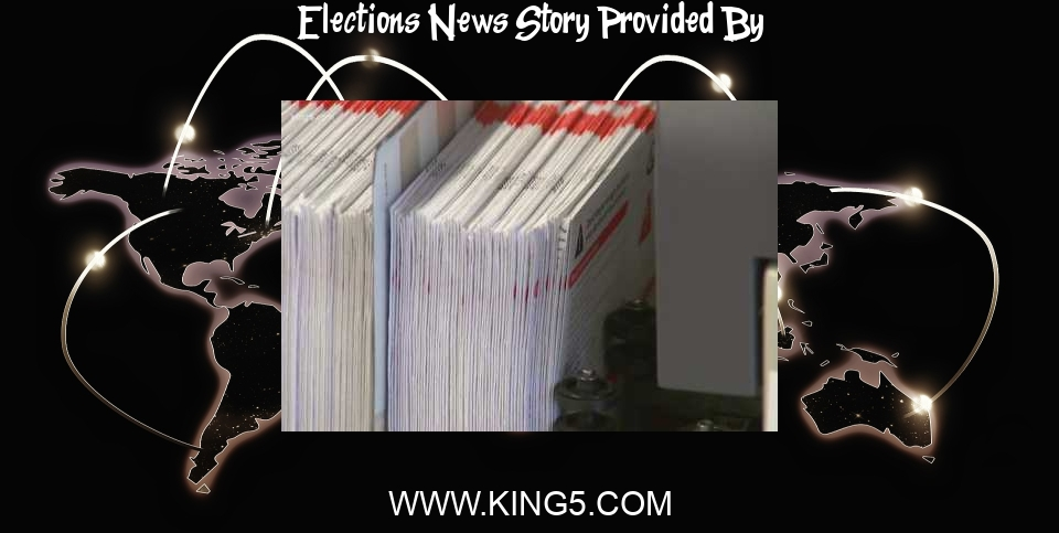 Elections News: Washington state 2021 primary election voter's guide   king5.com - KING5.com