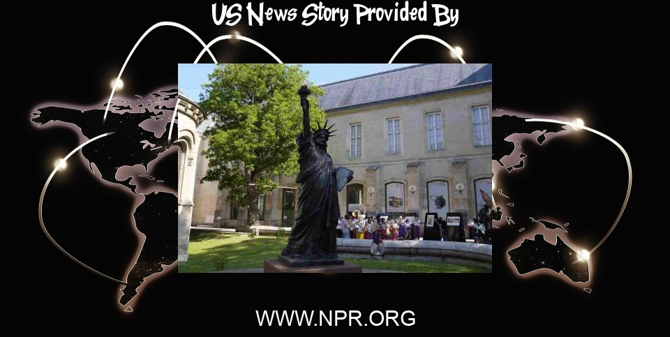 US News: Little Lady Liberty: France Is Sending The U.S. A Second, Smaller Statue Of Liberty - NPR