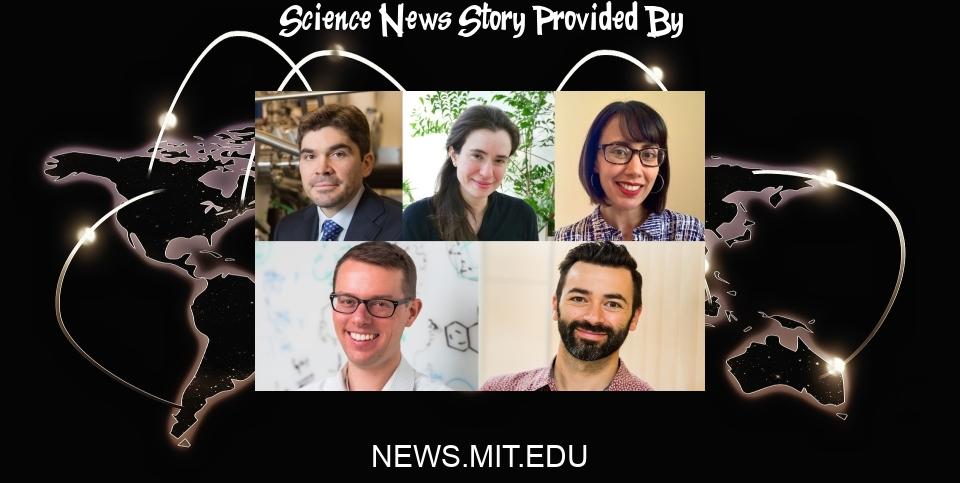 Science News: Five MIT School of Science professors receive tenure for 2021 - MIT News