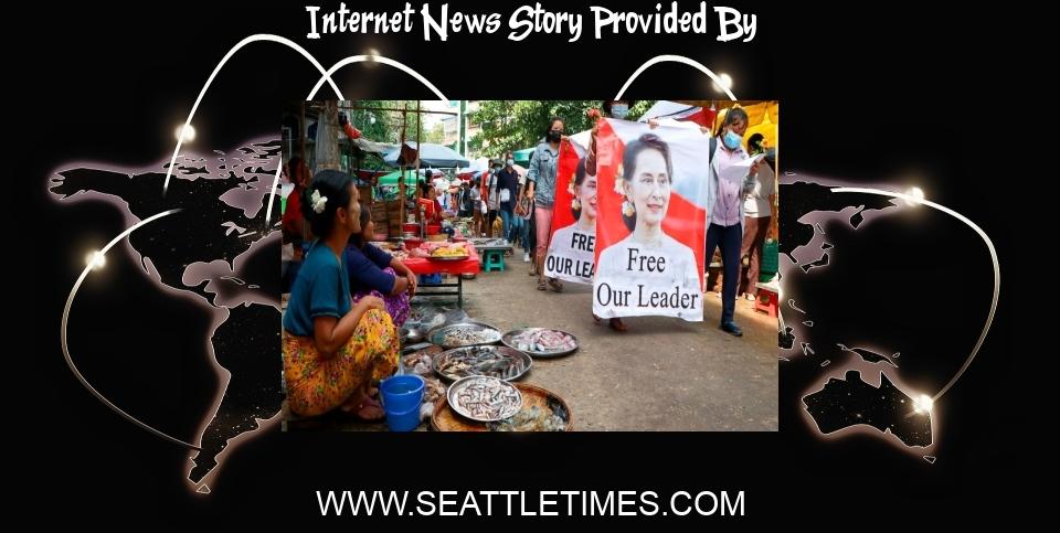 Internet News: Myanmar junta limits internet, seizes satellite TV dishes - The Seattle Times