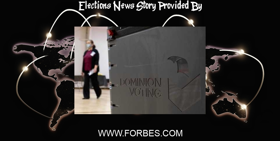 Elections News: Pennsylvania Decertifies County's Voting Machines After Partisan Election Audit 'Compromised' Them - Forbes