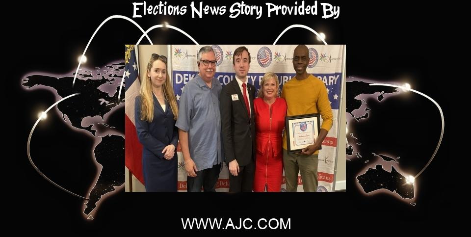 Elections News: GOP nomination to DeKalb elections board raises eyebrows - Atlanta Journal Constitution