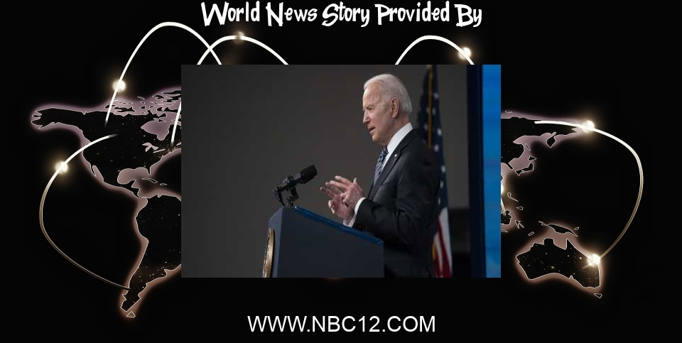 World News: Biden to lay out vaccine donations, urge world leaders to join - WWBT NBC12 News