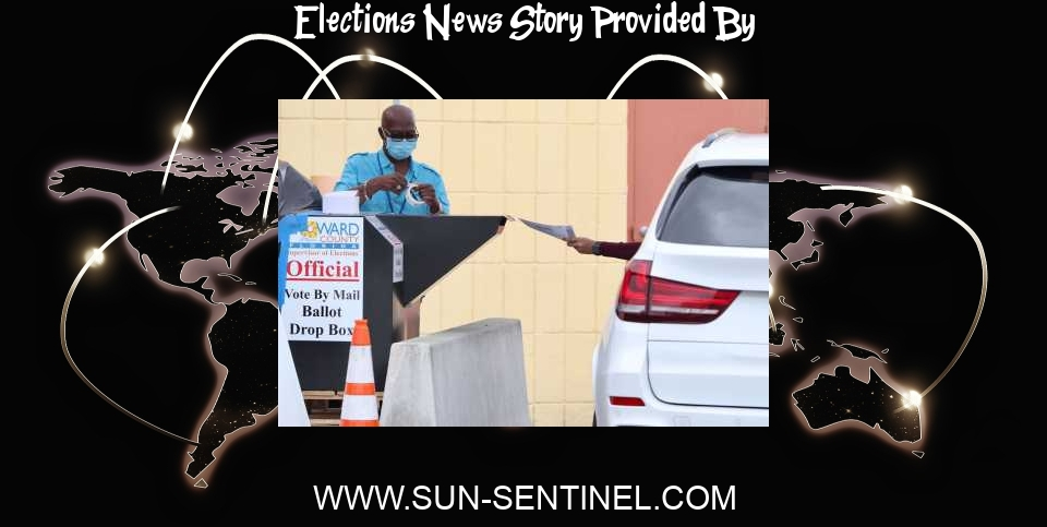 Elections News: Controversial elections changes approved by Florida House - South Florida Sun Sentinel