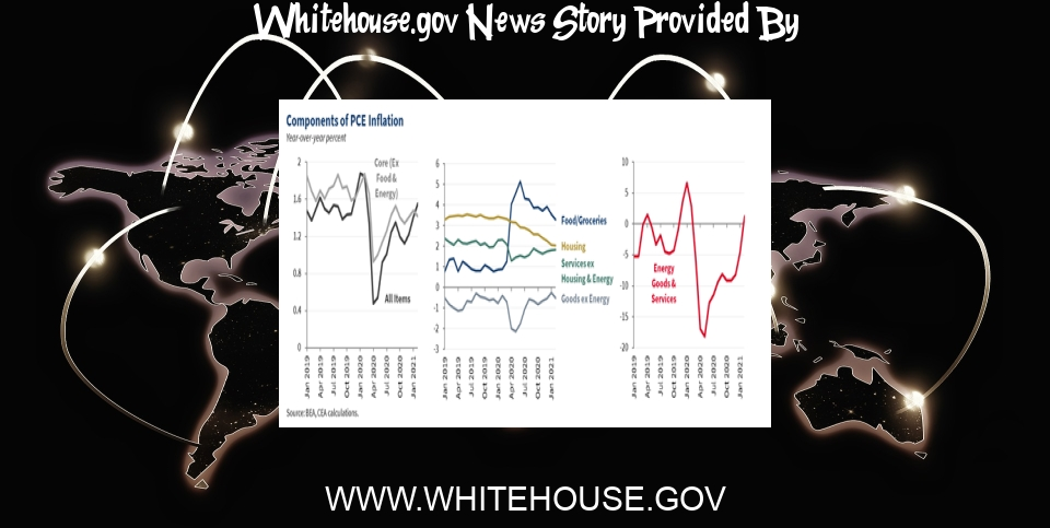 White House News: Pandemic Prices: Assessing Inflation in the Months and Years Ahead - The White House