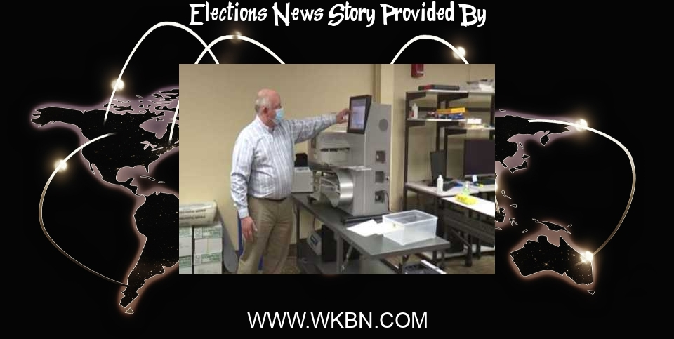 Elections News: Board of Elections test voting machines - WKBN.com